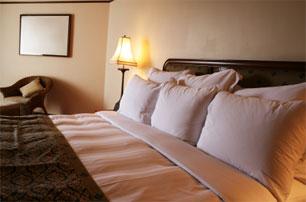 luxury vacation bedroom suite